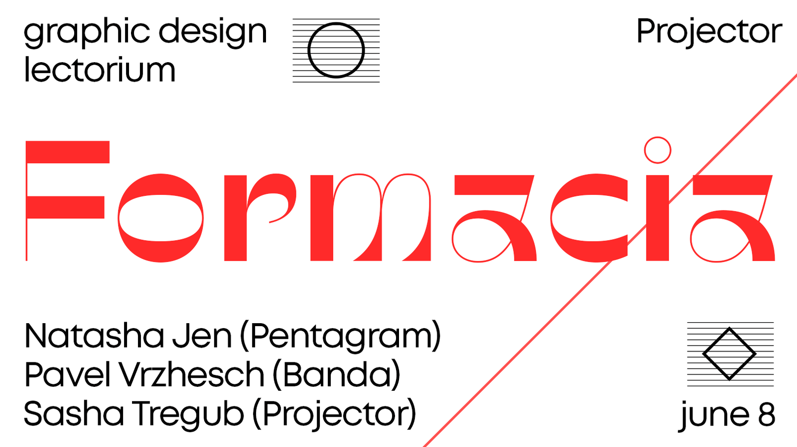 Formacia — graphic design lectorium