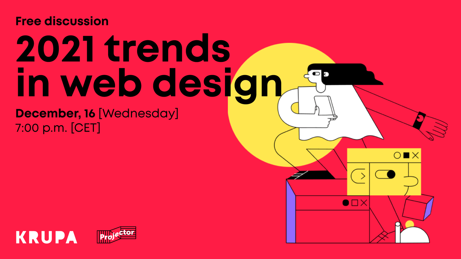 Free discussion: 2021 trends in web design