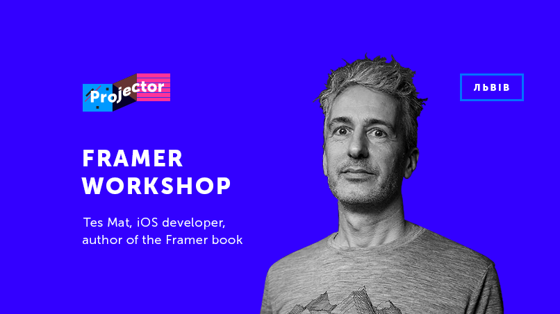 Workshop. How to make prototypes that feel like real apps with Framer.